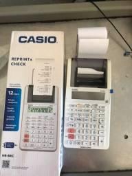 Vendo calculadora com impressão de papel