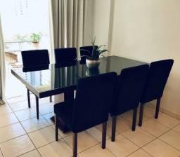 Título do anúncio: Mesa de jantar c/ 6 cadeiras