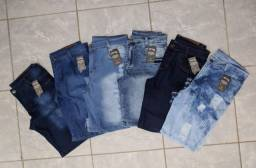 Kit 06 Bermudas Jeans Masculinas do 36 ao 46