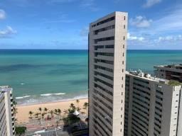 Título do anúncio: Alugo apartamento mobiliado com vista para o mar em boa viagem, 2 quartos, suíte