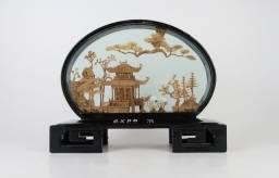 Antigo Diorama Chinês