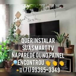 Título do anúncio: Serviço de Instalação de Smartv e aparelhos audiovisual