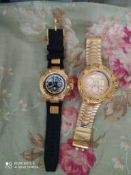 2 relógios invicta Linha Premium por 1000reais
