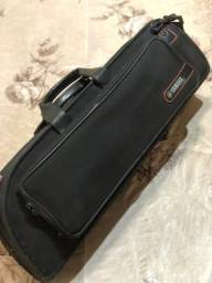 Trompete Yamaha 2330 novíssimo. Troco por flauta transversal yamaha