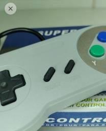 Título do anúncio: controle gamepad nintendo, faço entrega
