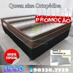 Título do anúncio: Cama queen size // ENTREGA GRATIS
