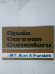 Manual Proprietário Gm Opala Caravan Comodoro 1978