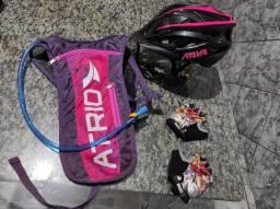 Kit Ciclismo Roupa e Acessórios