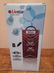 Caixa de Som LivStar, Rádio Portátil