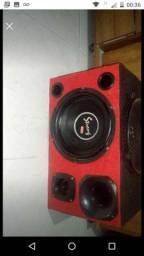 Caixa de som para carro para fazer caixa trio também