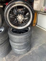 Título do anúncio: Rodas Aro 18 Com pneus