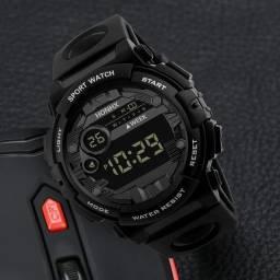 Relógio de pulso masculino digital