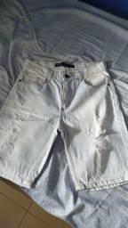 Bermuda jeans Masculina Blusteel