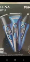 Máquina barbear corter  3x1