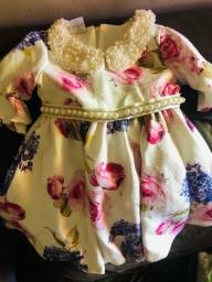 Vestido de festa Anjos baby