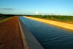 Área rural irrigada