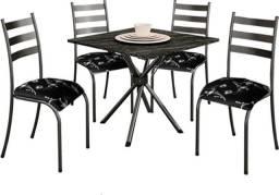 Título do anúncio: Mesa 4 cadeiras Entregamos e Montamos