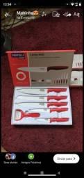 Título do anúncio: Linha Red<br>Um novo conceito para sua cozinha<br><br>Fratelli inox<br>Conjunto com 06 peças<br>