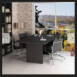 Mesa de reunião 2x1m nova