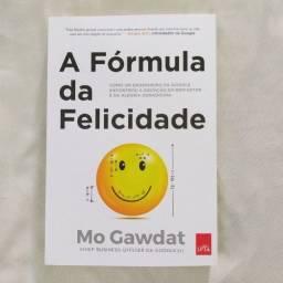 Livro A fórmula da felicidade - Novo