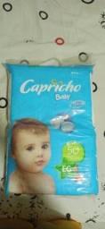 Título do anúncio: Fralda capricho (EG) 50 unidades