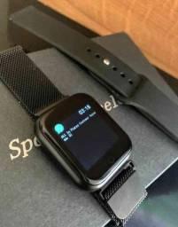 Smartwatch p70: SmartWatch P70 a prova d'água IOS e Android