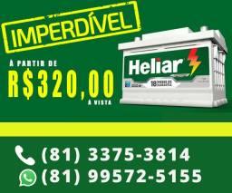 Bateria Heliar 60Ah em Promoção!!!