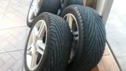 vendo rodas 17 c pneus 225x45
