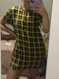 Título do anúncio: vestido xadrez marisa