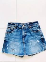 Título do anúncio: Short saia jeans