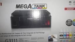 Impressora Multifuncional Jato de Tinta Mega Tank Canon<br><br>