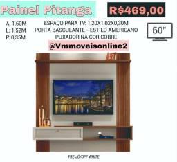 Painel Tv Pitanga até 60 polegadas Entrega Goiânia e Aparecida