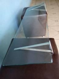 Bancada de vidro c suporte