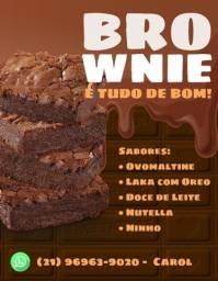 Título do anúncio: Brownie Simples e Recheados R$ 2,00