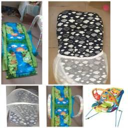 150 preço talvez negociável Para bebes cadeirinha berco tenda e tapete