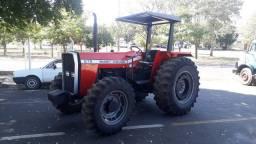 Título do anúncio: Trator Massey Ferguson Modelo 275 4x4 Ano 2000