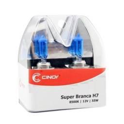 Lâmpada Super Branca H7 8500k Efeito Xenon Cinoy - YN12/H7A