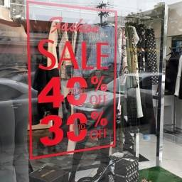 Loja de roupas, butique, estoque
