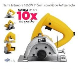 Título do anúncio: Serra Mármore Nova  Lith Com Kit Refrigeração Tipo Makita