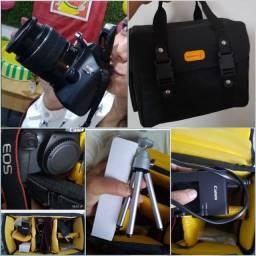Câmera Canon + Acessórios