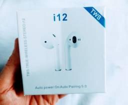 Fone i12 Bluetooth Lacrado NOVO