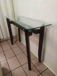 Console de vidro