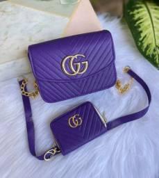 Bolsa colors com carteira