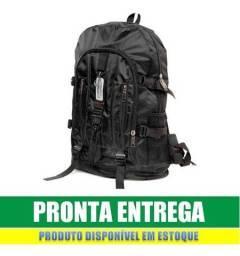 Título do anúncio: mochila impermeável motoboy escolar 50L com alça reforçada nova