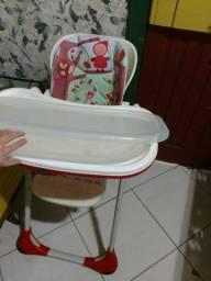 cadeira de alimentação bebe chicco chapeuzinho vermelho