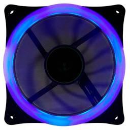 Cooler Fan Ventoinha T-Dagger, 120mm, LED Azul - T-TGF200-B