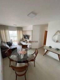 Apartamento com 3 dormitórios à venda, 81 m² por R$ 435.750,00 - Alto da Glória - Goiânia/