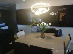 Apartamento à venda com 3 dormitórios em Aviação, Praia grande cod:ACT391