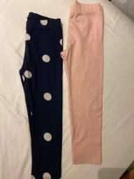Título do anúncio: 2 calças de malha Conton Gap