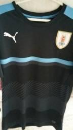 "Camiseta Uruguay 2016 2017 treino ""M"""